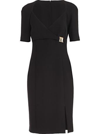 Versace Collection Embellished Pencil Dress