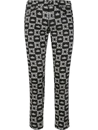 Dolce & Gabbana Checked Trousers