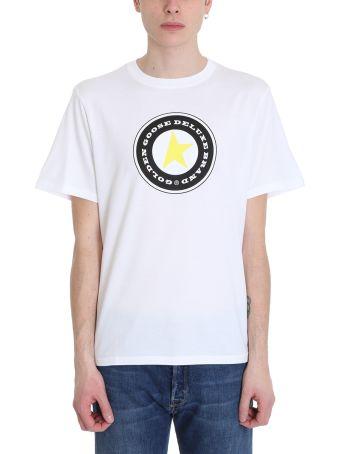 Golden Goose Star White Cotton T-shirt