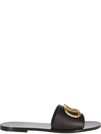 1cdccaafc Valentino Garavani Go Logo Flat Sandals