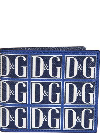 Dolce & Gabbana Logo Print Wallet