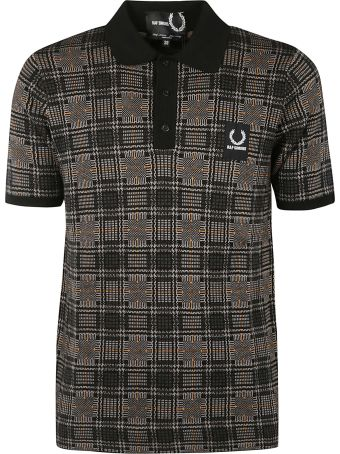 Fred Perry Raf Simons X Fred Perry Logo Patch Polo Shirt