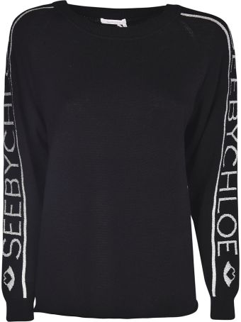 See by Chloé Logo Sweater