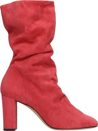 Marc Ellis Red Suede Boots