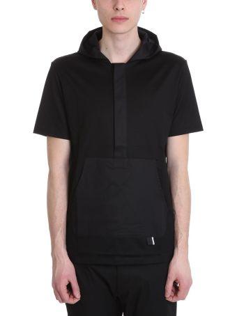 Low Brand Black Cotton T-shirt