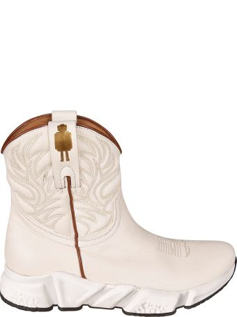 Texas Robot Cowboy Ankle Boots