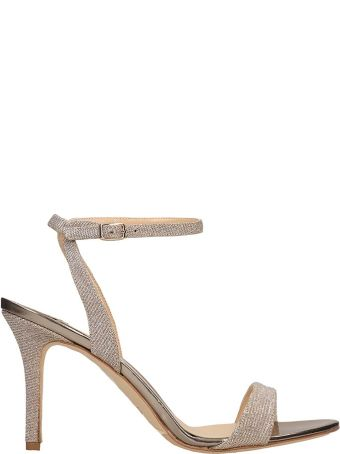 The Seller Champagne Canvas Sandals