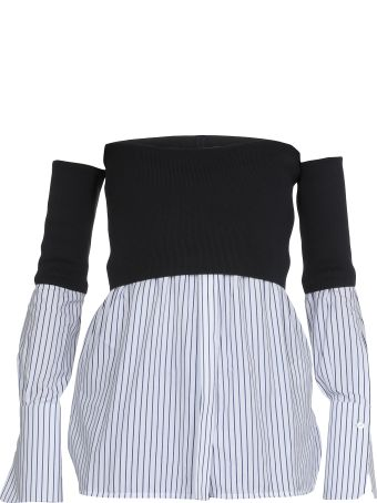 Victoria Victoria Beckham Off Shoulder Shirt
