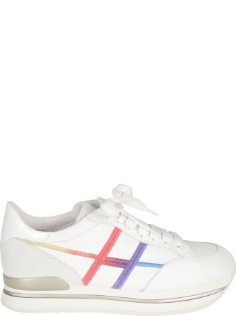 Hogan Embroidered Detail Sneakers