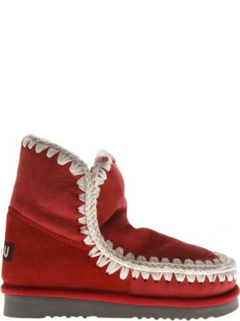 Mou Red Eskimo 18 Shearling Boots