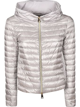 Herno Contrast Panels Padded Jacket
