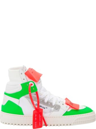 Off-White Off Court 3.0 Sneakers With Fluo Inserts