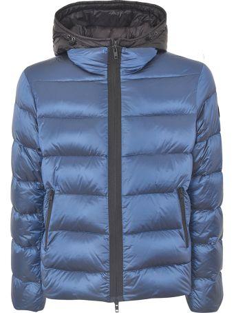 Fay Hooded Zip Padded Jacket