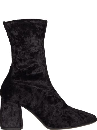 Janet & Janet Ursula Vichi Velvet Ankle Boots