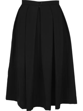Comme des Garçons Comme des Garçons Pleated Midi Skirt