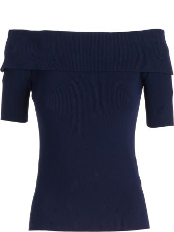 Parosh Sweater S/s Ribs