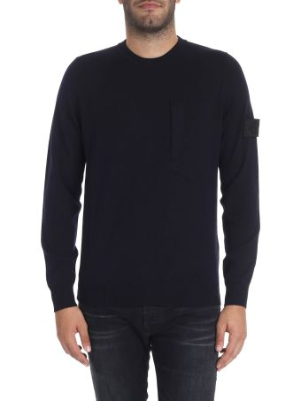 Stone Island Shadow Project Wool And Silk Pullover