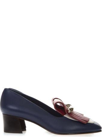 Valentino Garavani Multicolor Leather Loafers