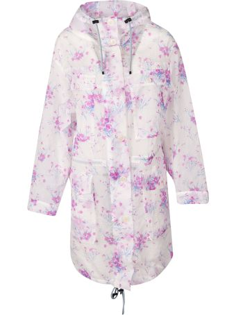 Dries Van Noten Floral Parka Coat
