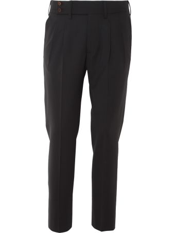 Entre Amis Wool Blend Trousers