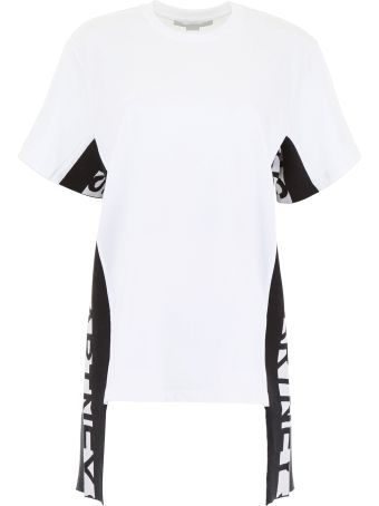 Stella McCartney T-shirt With Logo Bands