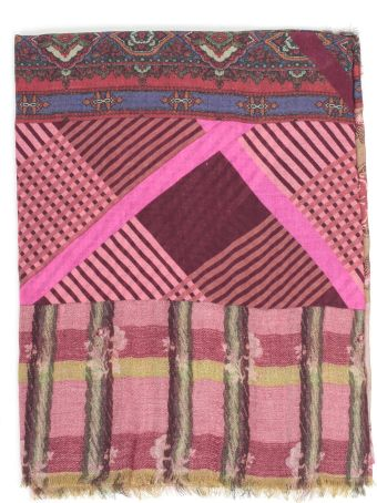 Pierre-Louis Mascia Pierre Louis Mascia' Multiple Pattern Print Scarf