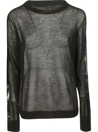 Maison Margiela Contrasting Stripe Sweater