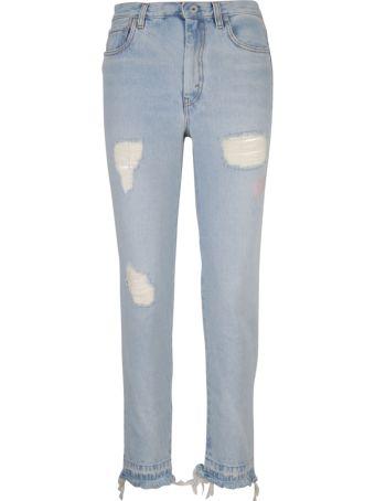 HERON PRESTON Distressed Jeans