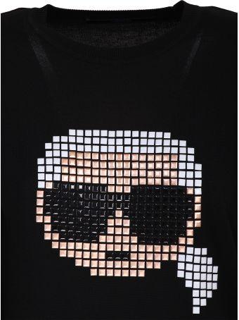 Karl Lagerfeld Karl pixel sweatshirt