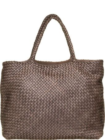 Officine Creative Officine Creative Dark Brown Class35 Braided Bag