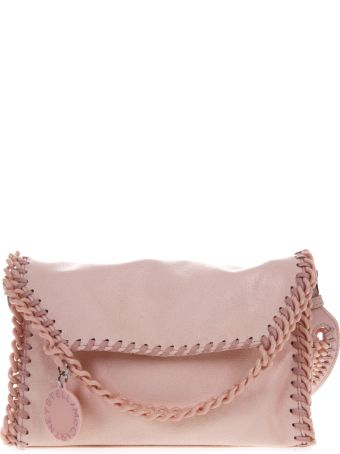 Stella McCartney Candy Mini Falabella In Pastel Pink Fabric