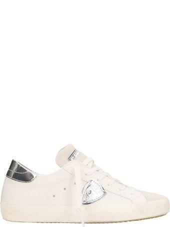 Philippe Model Paris White-silver Sneakers