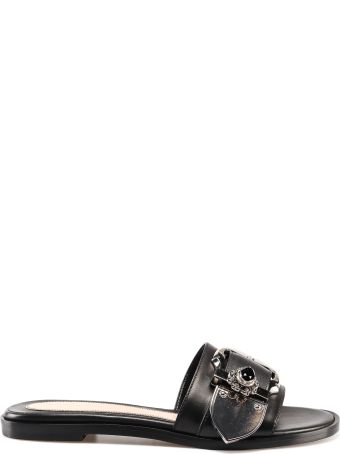 Alexander McQueen Embellished Flat Sandals