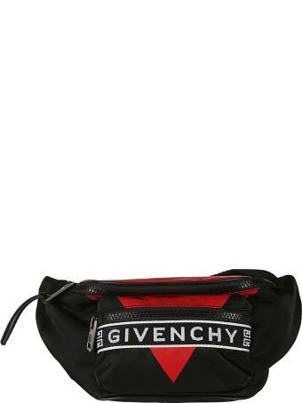 Givenchy Logo Stripe Shoulder Bag