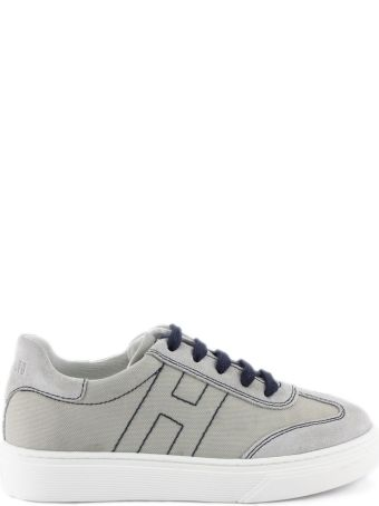 Hogan H365 Sneakers In Beige Canvas