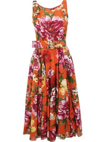 Samantha Sung Rose Print Dress