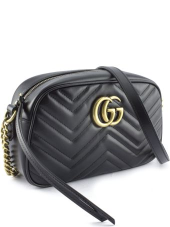 Gucci Gg Marmont Black Shoulder Bag