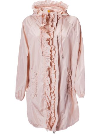 Moncler Genius Ruffled Raincoat