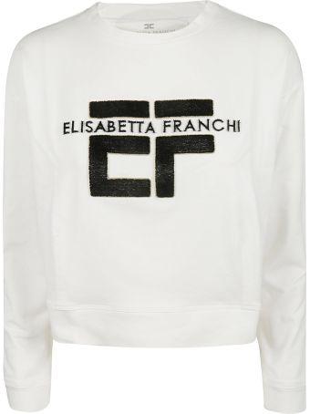 Elisabetta Franchi Celyn B. Logo Sweatshirt
