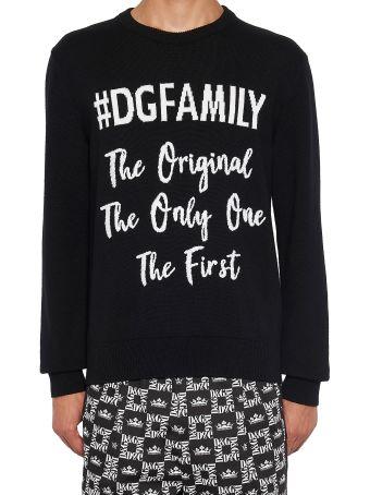 Dolce & Gabbana 'dg Family' Sweater