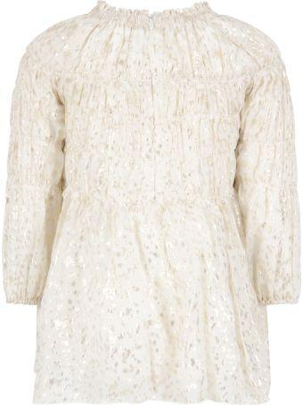 Chloé Ivory Dress For Girl