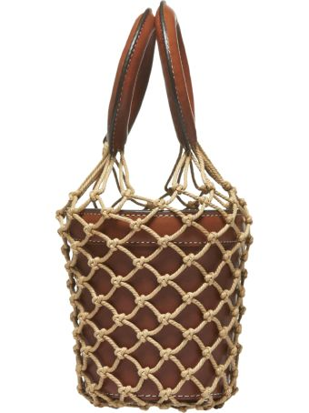 STAUD Net Layer Bucket Bag