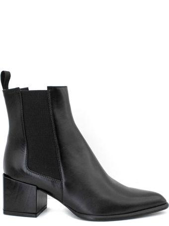 Roberto Festa Rania Ankle Boot In Black Leather.