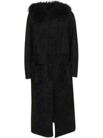 Salvatore Santoro Furred Detail Long Coat