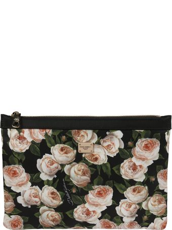 Dolce & Gabbana Medium Floral Clutch