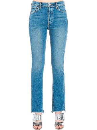 RE/DONE 'double Needle Long' Jeans