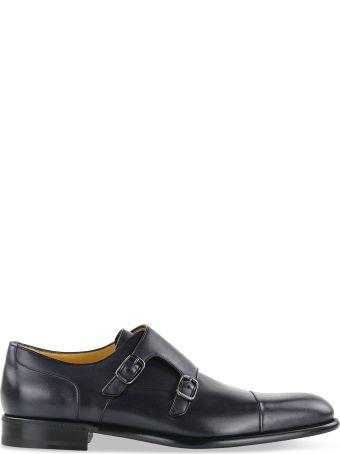 a.testoni Classic Monk Shoes