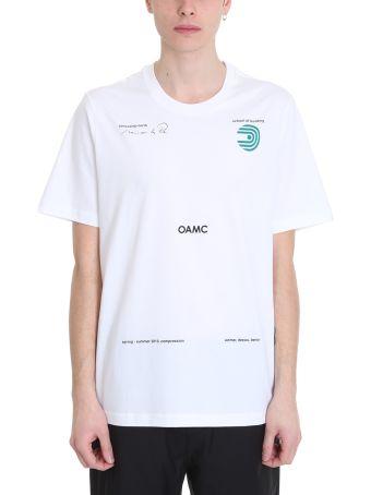 OAMC Schule White Cotton T-shirt