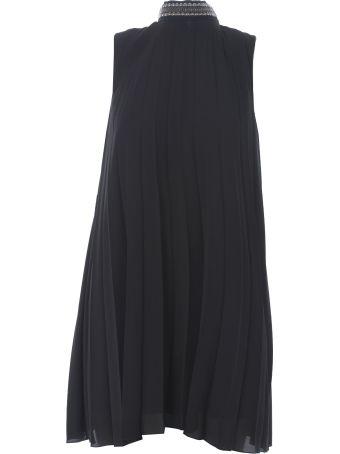 Dondup Sleeveless Pleated Dress