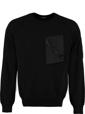 C.P. Company Cotton Crew-neck Sweater